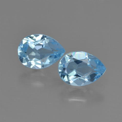 thumb image of 1.7ct Pear Facet Swiss Blue Topaz (ID: 450803)