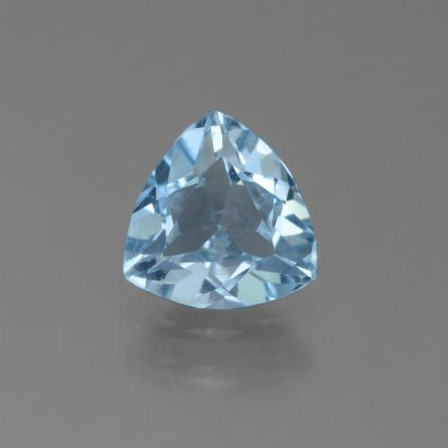 Sky Blue Topaz Gem - 1.1ct Trillion Facet (ID: 452739)
