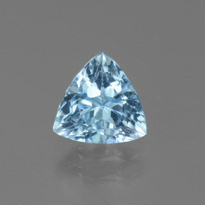 1.4ct Trillion Facet Sky Blue Topaz Gem (ID: 452747)