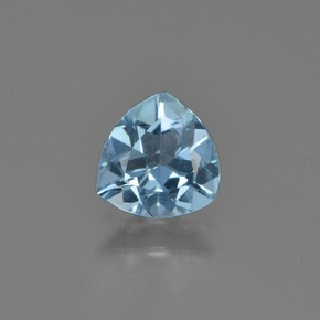 Sky Blue Topaz Gem - 1.1ct Trillion Facet (ID: 452860)