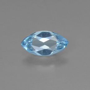 Sky Blue Topaz Gem - 1ct Marquise Facet (ID: 453977)