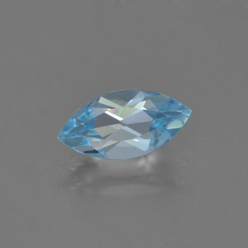Sky Blue Topaz Gem - 1.3ct Marquise Facet (ID: 453995)