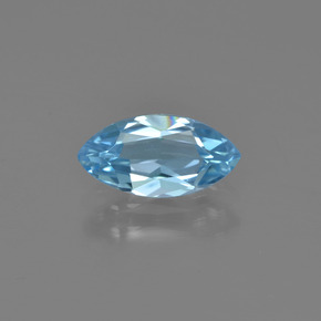 1.3ct Marquise Facet Sky Blue Topaz Gem (ID: 454244)