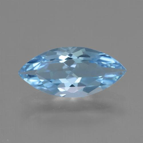 Sky Blue Topaz Gem - 3.1ct Marquise Facet (ID: 454776)