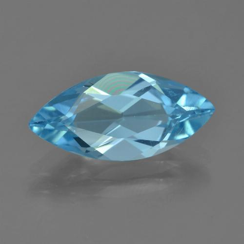 Sky Blue Topaz Gem - 3.4ct Marquise Facet (ID: 455067)