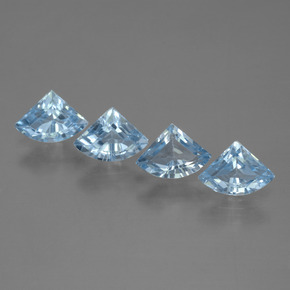 Sky Blue Topaz Gem - 0.7ct Fancy Facet (ID: 455175)