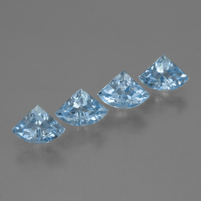 Sky Blue Topaz Gem - 0.7ct Fancy Facet (ID: 455178)