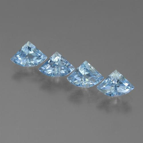 Sky Blue Topaz Gem - 0.7ct Fancy Facet (ID: 455183)