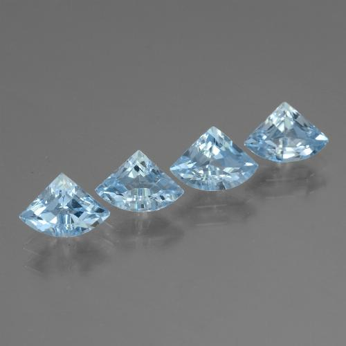 Sky Blue Topaz Gem - 0.6ct Fancy Facet (ID: 455186)