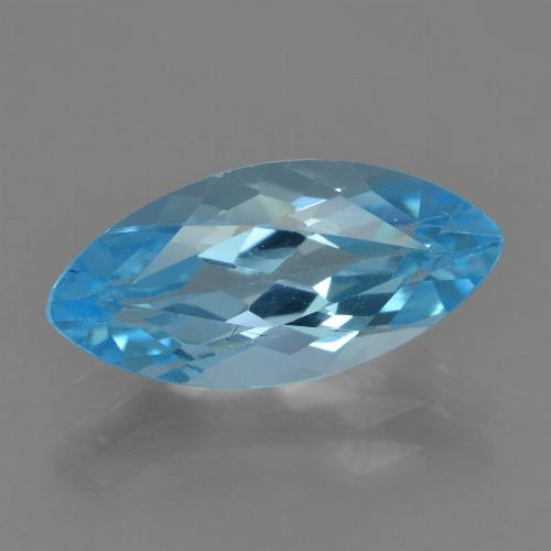 Sky Blue Topaz Gem - 3.8ct Marquise Facet (ID: 455282)