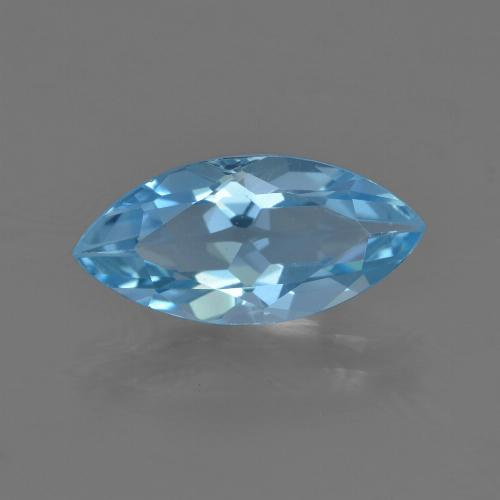 Baby Blue Topaz Gem - 3.6ct Marquise Facet (ID: 455481)