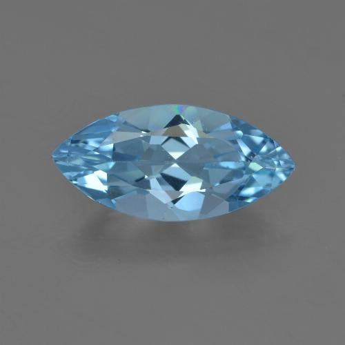 3.4ct Marquise Facet Sky Blue Topaz Gem (ID: 455483)