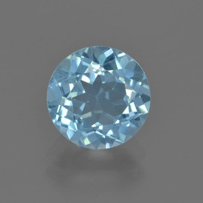 thumb image of 2.4ct Round Facet Sky Blue Topaz (ID: 455802)