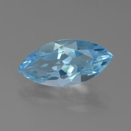 Sky Blue Topaz Gem - 3.9ct Marquise Facet (ID: 455841)
