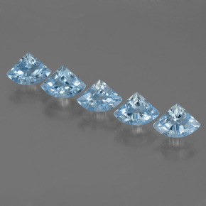 Sky Blue Topaz Gem - 0.8ct Fancy Facet (ID: 455950)