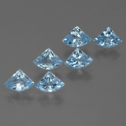 Sky Blue Topaz Gem - 0.6ct Fancy Facet (ID: 455954)