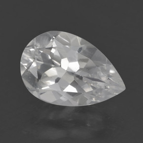 thumb image of 1.4ct Pear Facet White Topaz (ID: 462341)