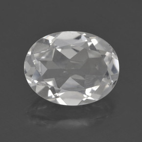 thumb image of 2.8ct Oval Facet White Topaz (ID: 462427)