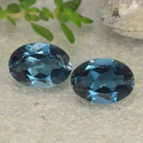 thumb image of 2ct Oval Facet London Blue Topaz (ID: 480464)