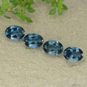 thumb image of 3.8ct Oval Facet London Blue Topaz (ID: 480623)