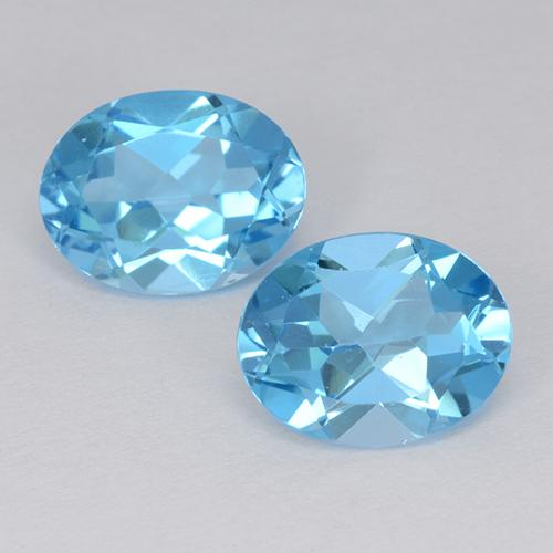 Baby Blue Topaz Gem - 2.1ct Oval Facet (ID: 511227)