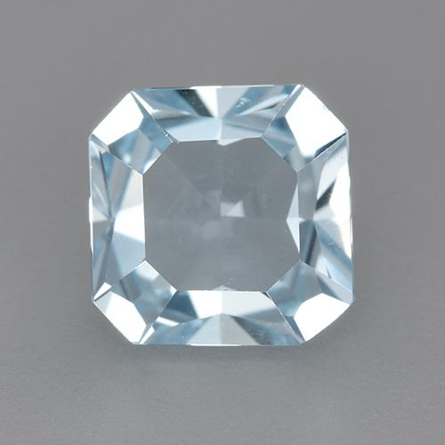 Swiss Blue Topaz Gem - 2.7ct Octagon Step Cut (ID: 522116)