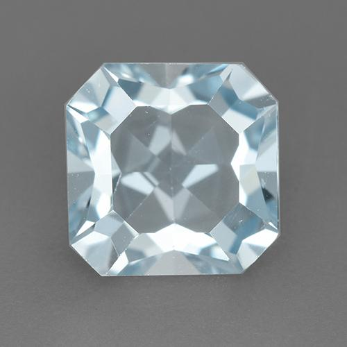 Light Baby Blue Topacio Gema - 2.9ct Corte octagonal (ID: 522454)