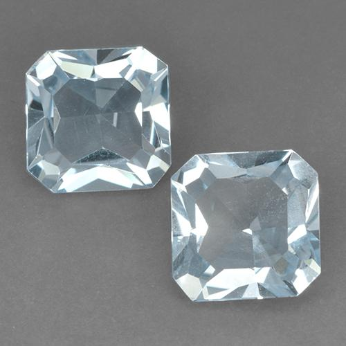 Swiss Blue Topaz Gem - 2.8ct Octagon Step Cut (ID: 522700)