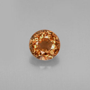 Buy 0.68 ct Bronze Orange Tourmaline 5.37 mm  from GemSelect (Product ID: 242344)
