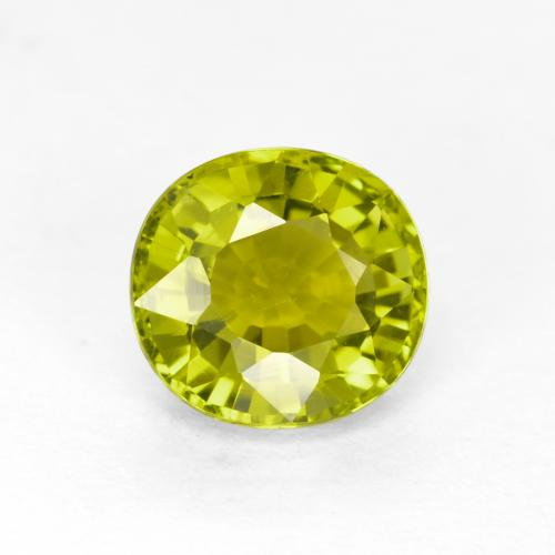Buy 1.11 ct Golden Green Tourmaline 6.49 mm x 6.1 mm from GemSelect (Product ID: 253193)