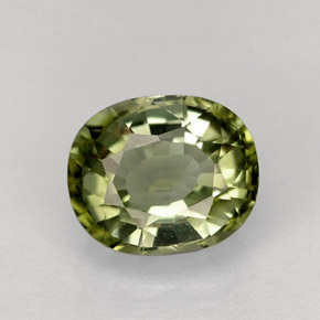 Buy 1.54ct Green Tourmaline 7.64mm x 6.41mm from GemSelect (Product ID: 256634)