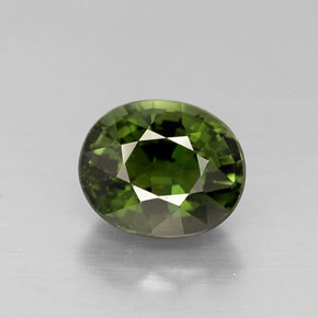 Buy 1.02 ct Green Tourmaline 6.62 mm x 5.5 mm from GemSelect (Product ID: 256989)