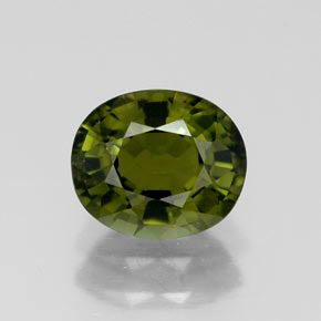 Buy 1.07 ct Green Tourmaline 6.88 mm x 5.9 mm from GemSelect (Product ID: 256992)