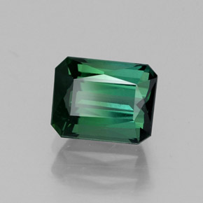 Buy 1.14ct Bluish Green Tourmaline 6.57mm x 5.18mm from GemSelect (Product ID: 262458)