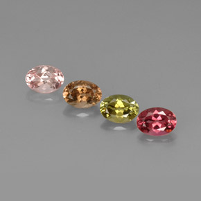 Buy 3.52 ct Multicolor Tourmaline 7.05 mm x 5.1 mm from GemSelect (Product ID: 268810)