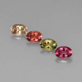 Buy 3.12 ct Multicolor Tourmaline 7.09 mm x 5.1 mm from GemSelect (Product ID: 268811)