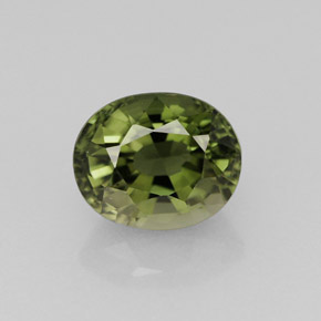 Medium-Dark Green Turmalina Gema - 1.4ct Forma ovalada (ID: 273343)