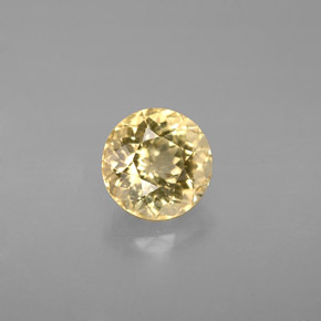 Buy 1.28ct Yellow Tourmaline 6.66mm  from GemSelect (Product ID: 283701)