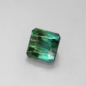 Buy 2.04 ct Blue Green Tourmaline 6.94 mm x 6.8 mm from GemSelect (Product ID: 291157)