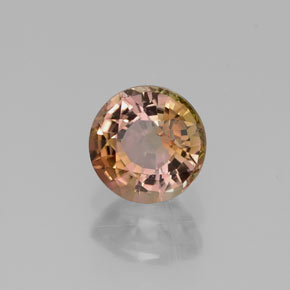 0.6 ct Natural Multicolor Tourmaline