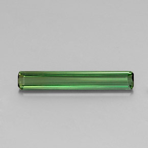 1.8ct Octagon Facet Green Tourmaline Gem (ID: 346713)
