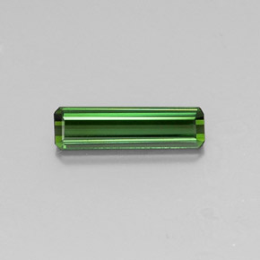 1.2ct Octagon Facet Earthy Green Tourmaline Gem (ID: 346791)