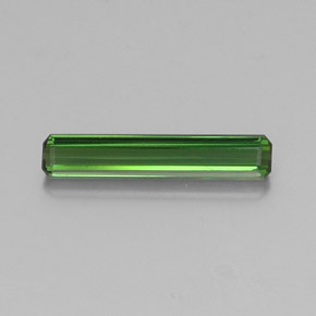 1.4ct Octagon Facet Green Tourmaline Gem (ID: 346797)