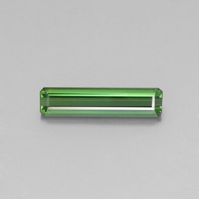 2ct Octagon Facet Medium Green Tourmaline Gem (ID: 346811)