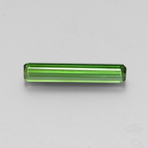 1.4ct Octagon Facet Green Tourmaline Gem (ID: 346888)