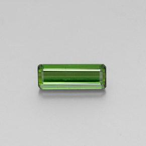 1.7ct Octagon Facet Green Tourmaline Gem (ID: 346897)