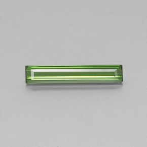 1.7ct Octagon Facet Green Tourmaline Gem (ID: 346907)