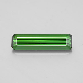 1.8ct Octagon Facet Green Tourmaline Gem (ID: 347286)