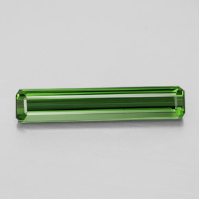 2.6ct Octagon Facet Earthy Green Tourmaline Gem (ID: 347330)