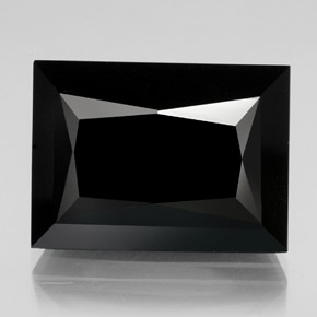 66.72 ct Baguette / Scissor Cut Black Tourmaline Gemstone 25.43 mm x 18.7 mm (Product ID: 347920)